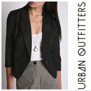 Urban Outfitters Little Brother Navy Blazer Small